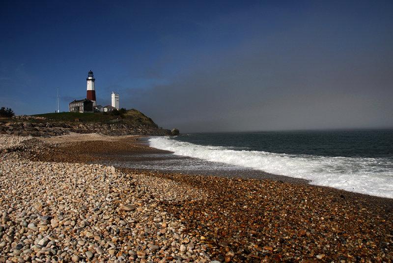 Montauk Lighthouse and Fog