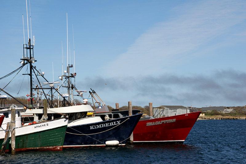 Montauk Fishing Fleet