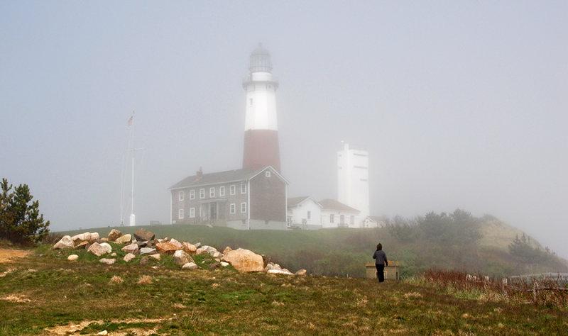 Montauk Lighthouse in the Fog