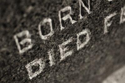 born died in stone