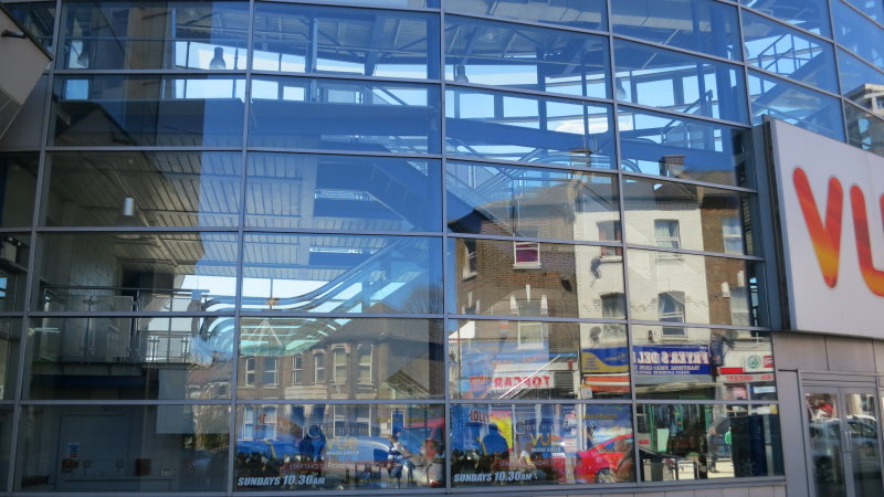 Reflections  in  the  Vue  Cinema