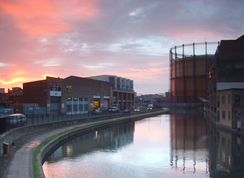 Sunrise over the Regent Canal