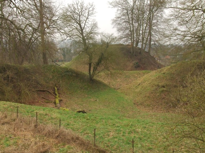 Berkhamsted  Castle , the  motte