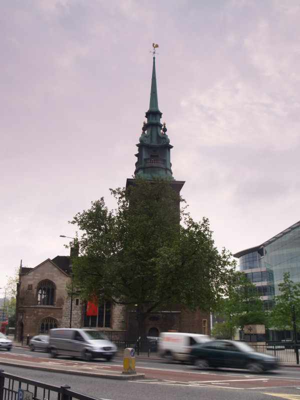 All Hallows by the Tower Church