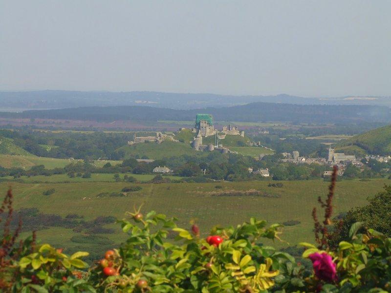 Corfe Castle,from Kingston.
