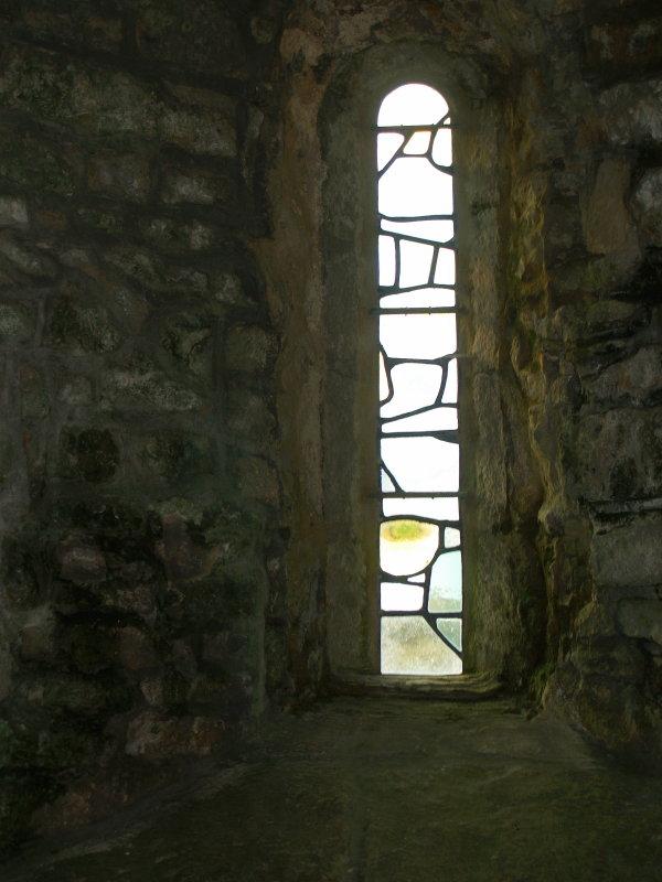 St.Aldhelms Chapel,the East window.