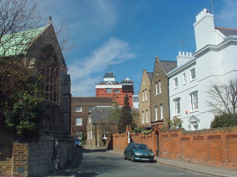 Church Street,Chiswick(behind Fullers brewery)
