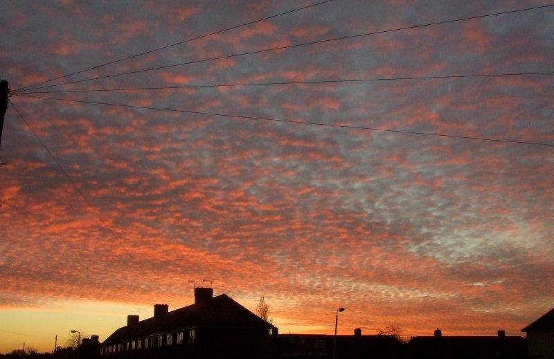 The unobserved sunrise