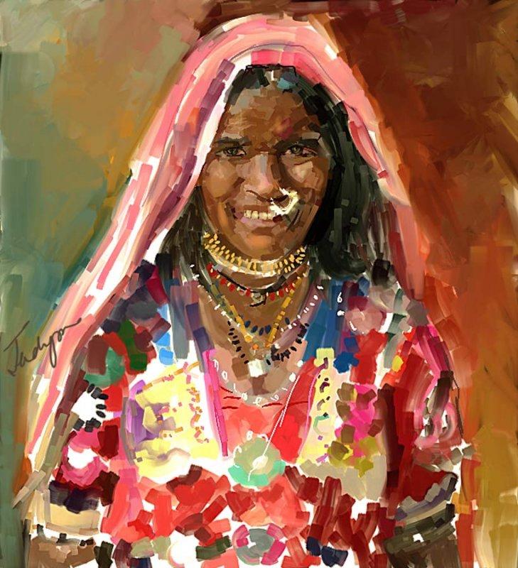 A Gypsy Portrait: Pushkar, Rajasthan, India