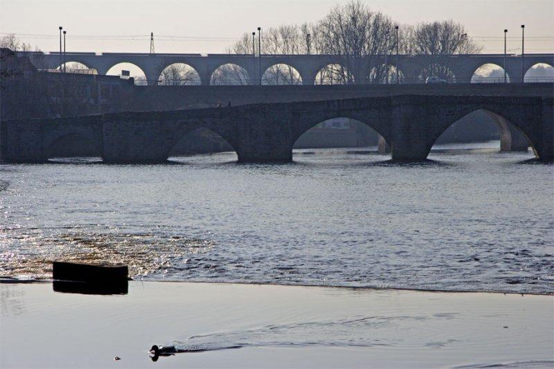 Deux ponts et un viaduc