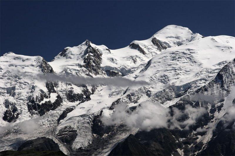 Mont Blanc du Tacul - Mont Maudit - Mont Blanc - Dome du Goûter