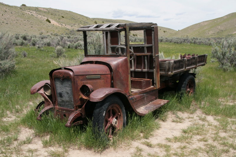Old International Truck