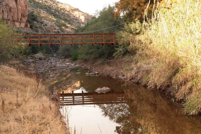 Suspension Bridge reflection
