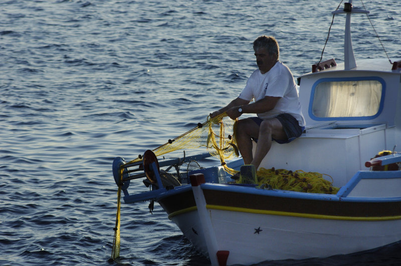 net fisherman