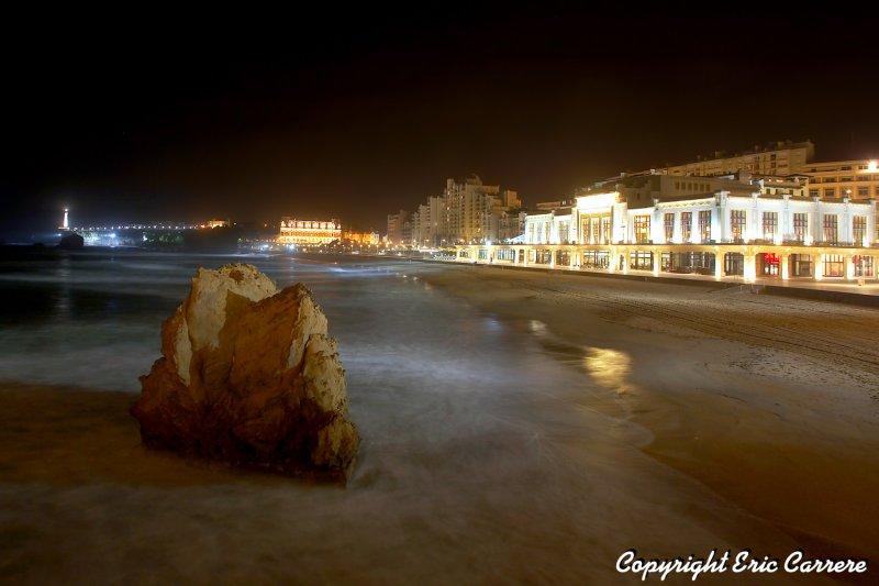 la Grand-plage de Biarritz