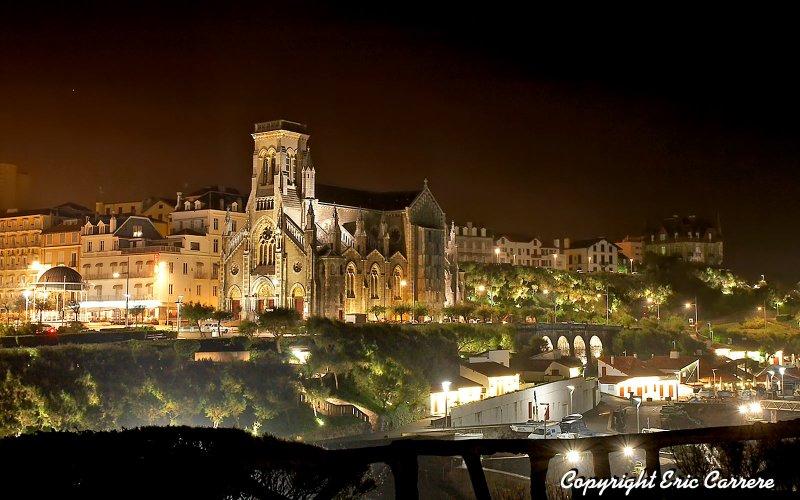 Biarritz  ( France ),  Léglise Sainte-Eugénie