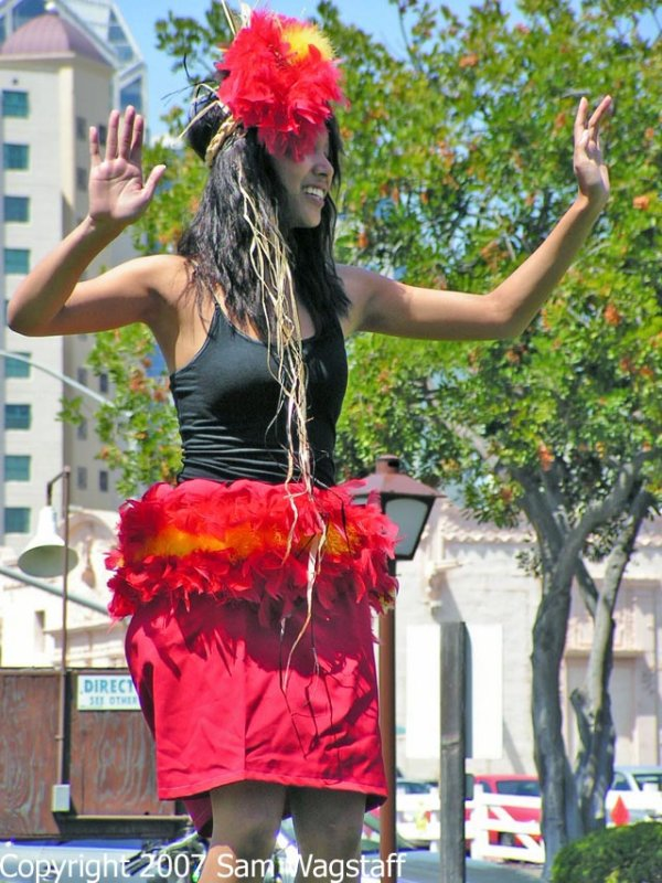 Janey Polynesian Dancer