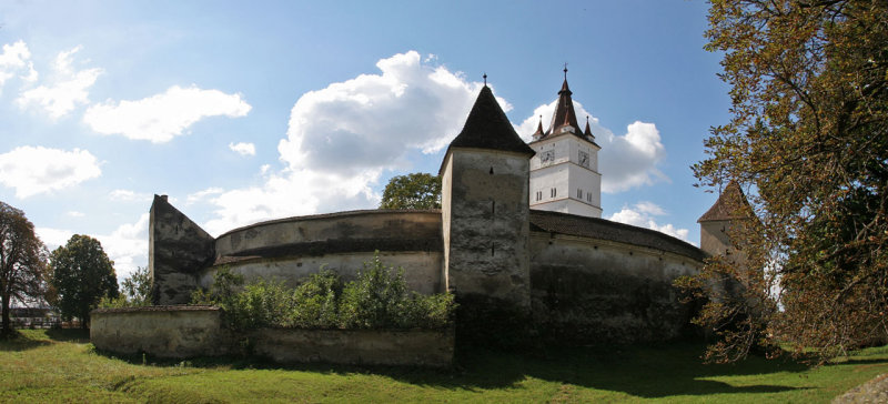 Romania;fortified church in Harman