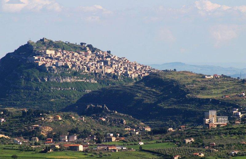 near Nicosia,Sicily