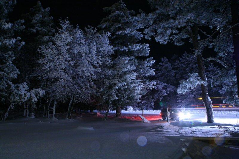 Passing Snow-Plow
