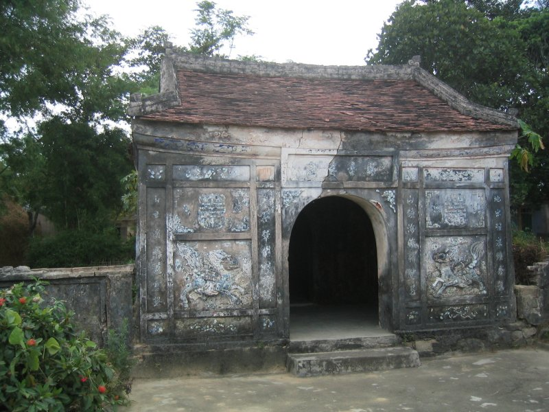 Old tomb in Hue