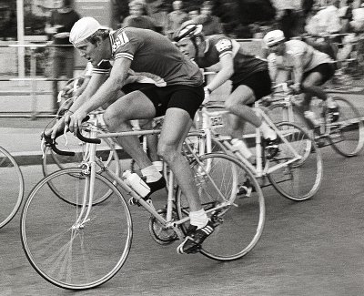 John Howard in Olympic road race, Munich 72