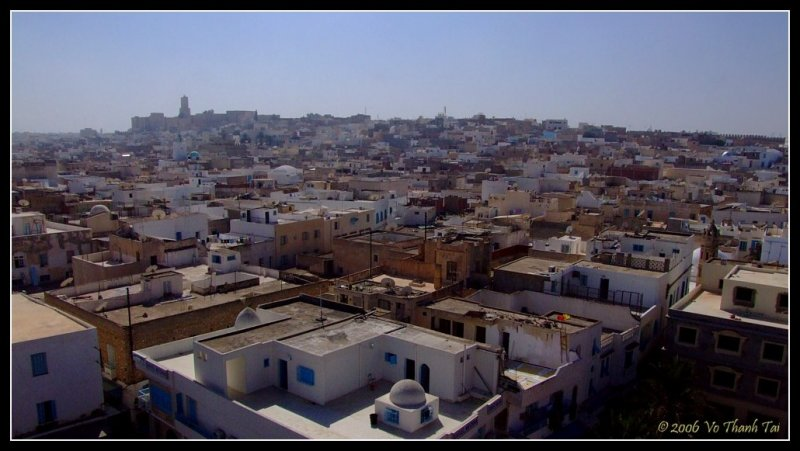 Sousse (view from Ribat tower)