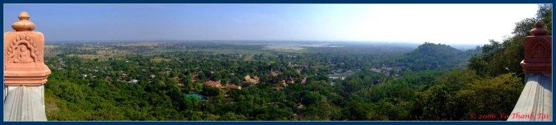 Oudong (panorama)