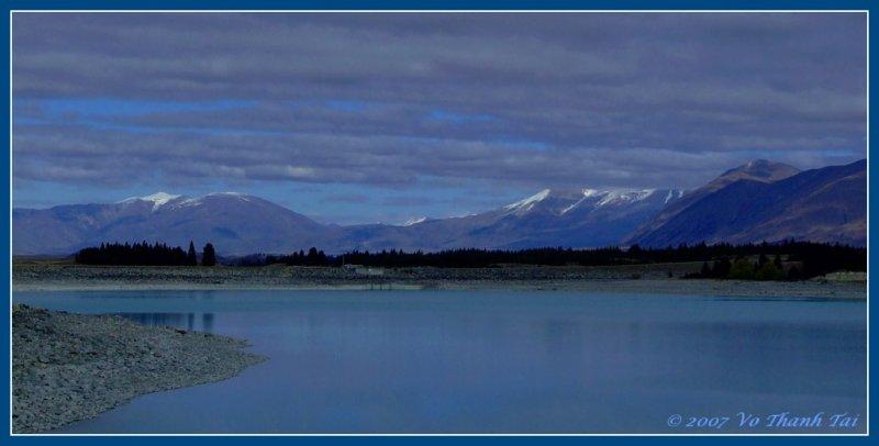 Lake Pukaki (panorama format)