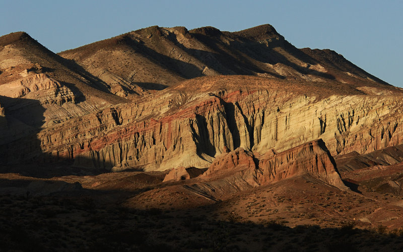 Sun Setting in Red Rock Canyon