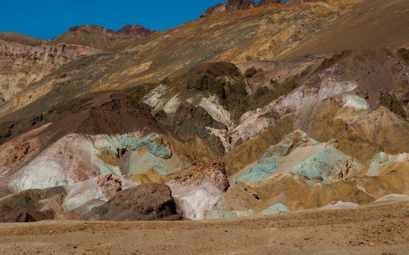 Death Valley-Artist Pallette
