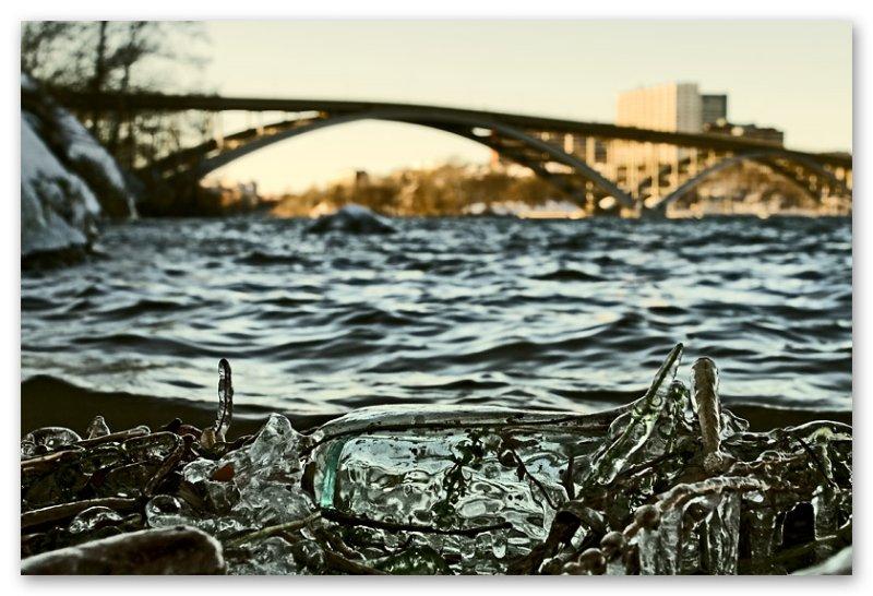 ice and bridge