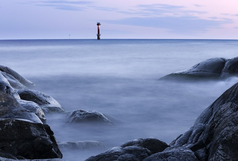 shore & lighthouse
