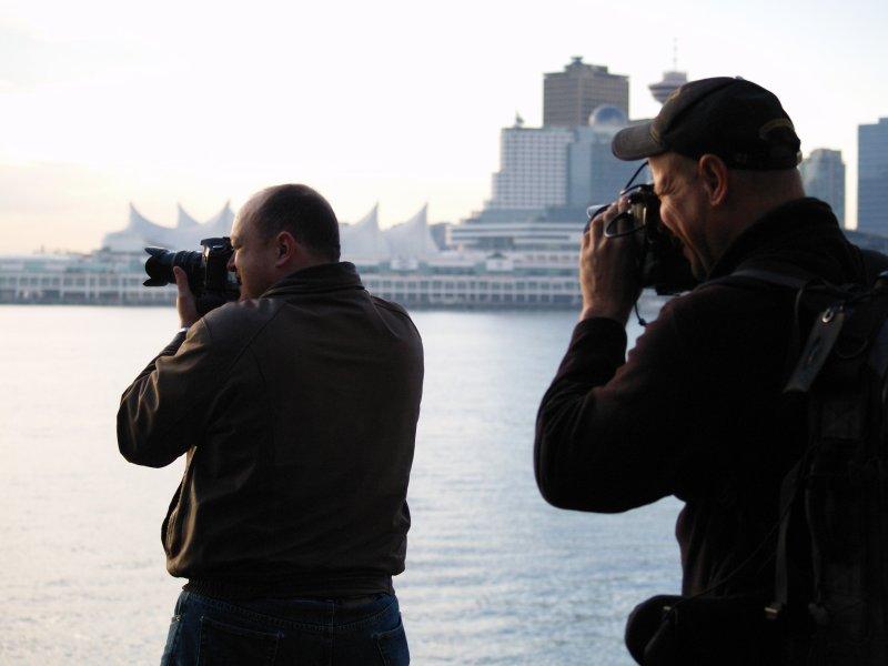 Photo of a guy taking a photo of a guy taking a photo