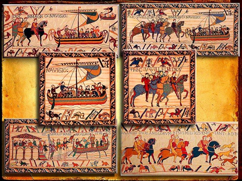 XII Century Tapestry In Bayex, Bretagne
