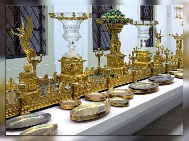 Inside Of Hofburg Treasury, Vienna, Austria