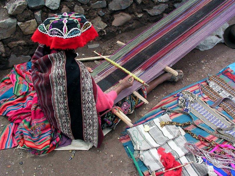 Weaving The Carpet, Sacred Valley