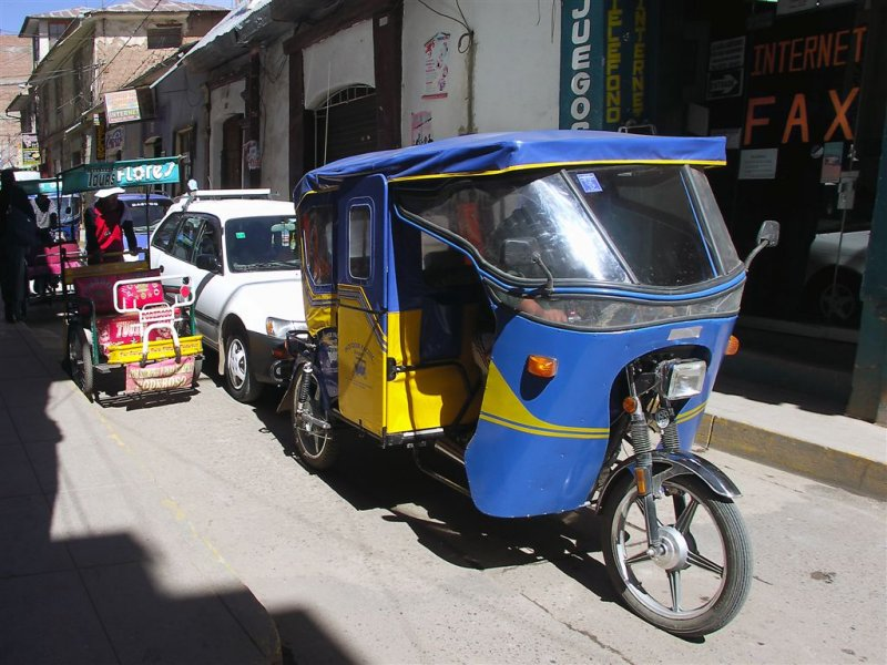 Taxi For All Tastes And Vallets, Puno, Titicaca Lake