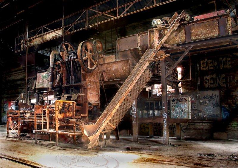 Bone Flour Mill...