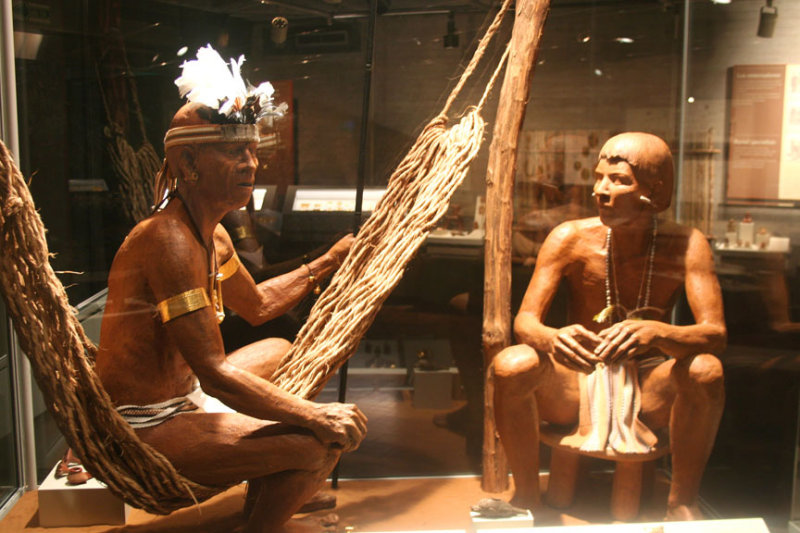Shamans (who conducted rituals with spirits) had great prestige and power due to their knowledge of ancestral history and myths.