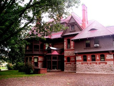West face of Twain House