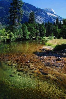 Scenic Spot on the Merced River