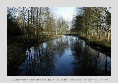 Normandy, Charentonne rivers valley 1