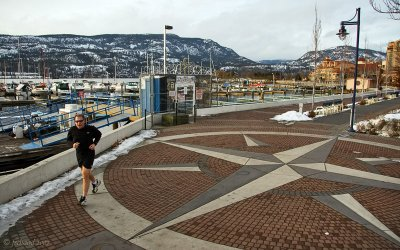 Waterfront Park in January