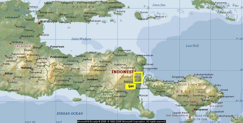 Ijen Map