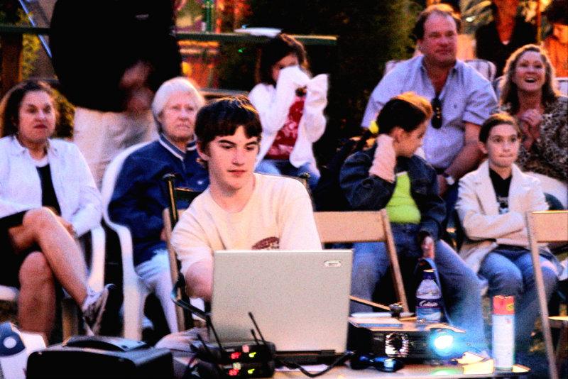 Clark, our technical producer