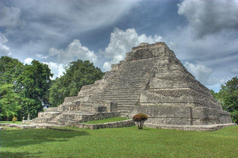 Pyramid at Chacchoben