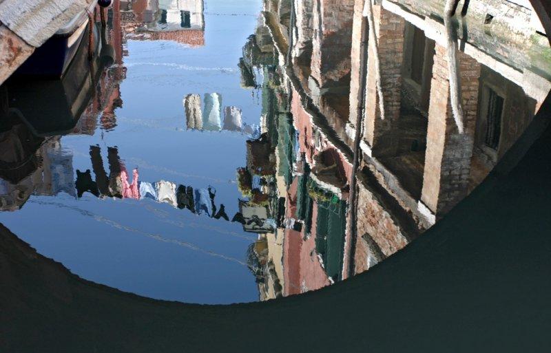 reflected laundry