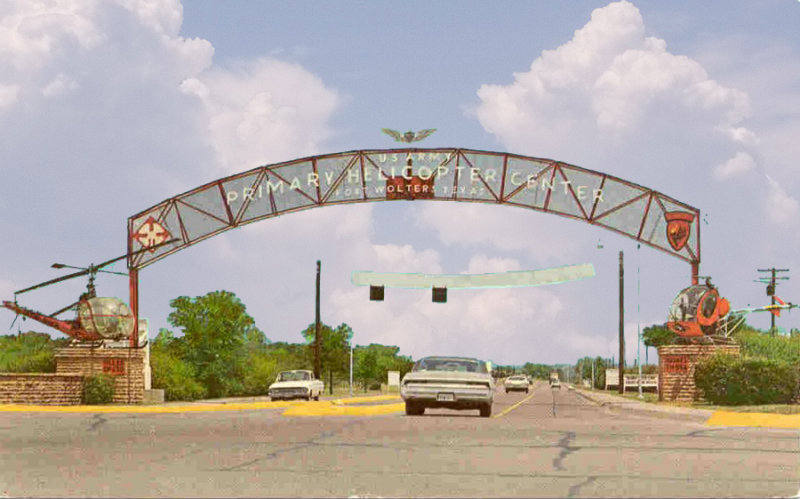 Main Gate. . .circa 1964