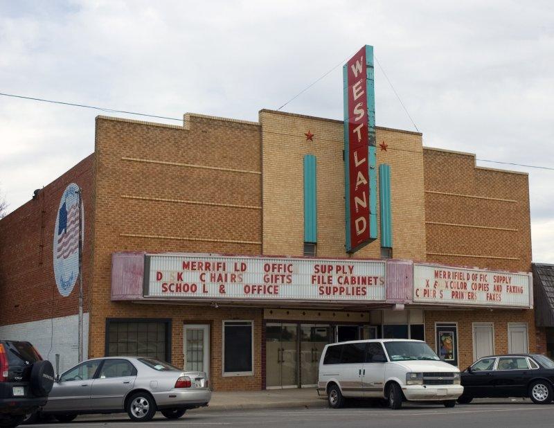 Elk City OK  Old Theatre